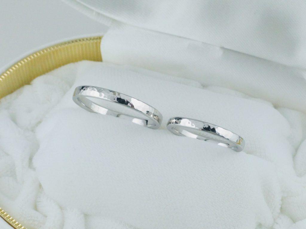 マリッジリング制作 オーダーメイド プラチナ making marriage ring made-to-order platinum