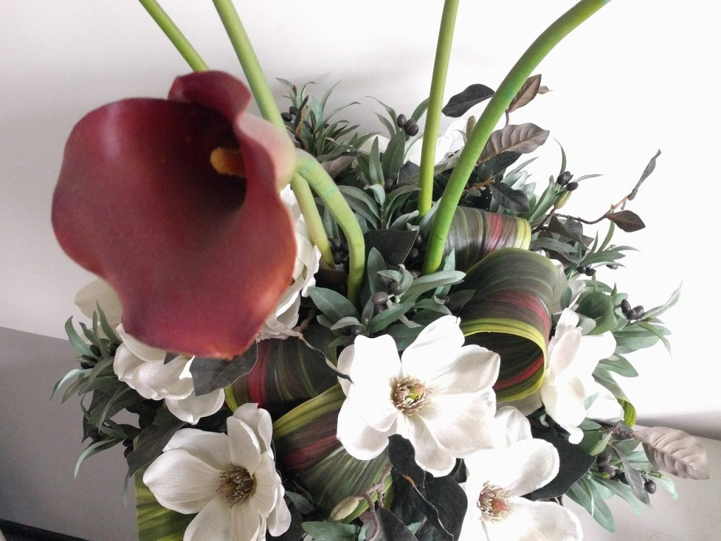 事務所の中の花 Flowers in office