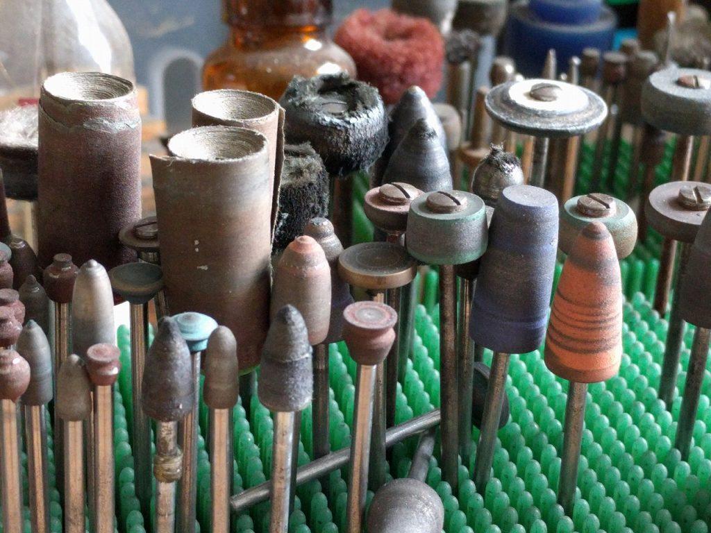 研磨用の先端工具色々